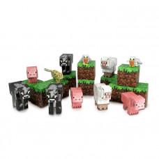 Minecraft Papercraft: Animal Mobs / Бумажный конструктор: Дружелюбные мобы