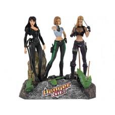 Danger Girls: Action Figure Set Special Edition / Опасная Девушка: Набор Фигурок - Специальный Выпуск
