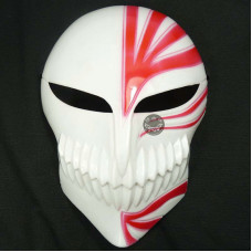 Halloween Bleach Props Ichigo Kurosaki Bankai mask Cosplay Masquerade Party Mask