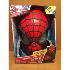 NEW Spider-Man 2 SPIDER VISION MASK with Lights & Web Discs