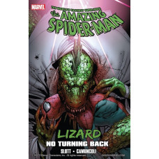 Spider Man The Amazing Lizard No Turning Back